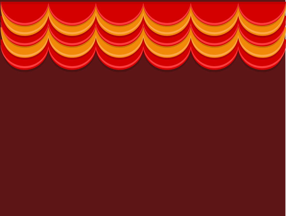 Stage - Cartoon Background Vector