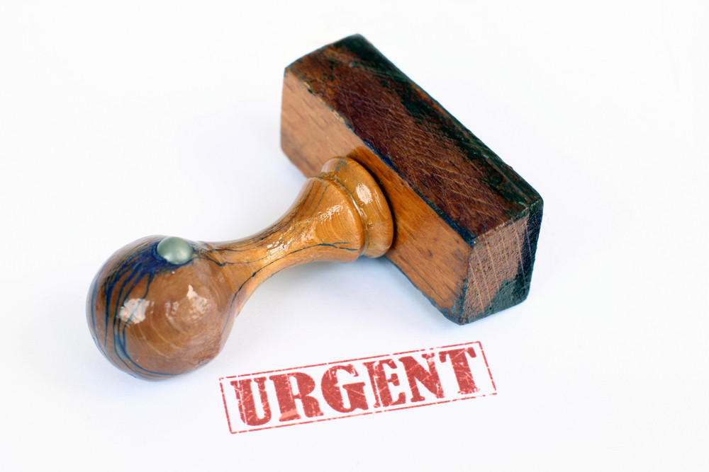 Stamp Urgent