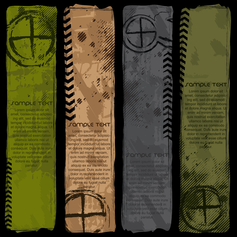 Standing Army Style Banners