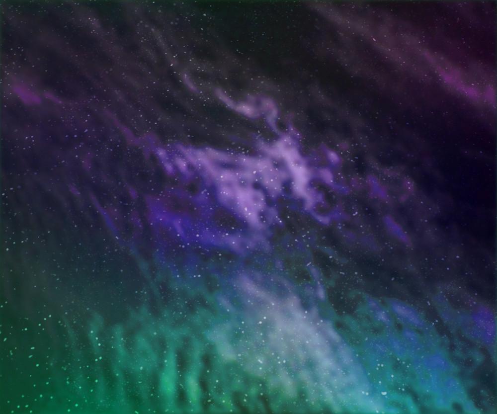 Star Dust Cosmos Background