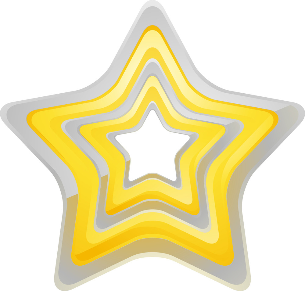 Star Element Vector