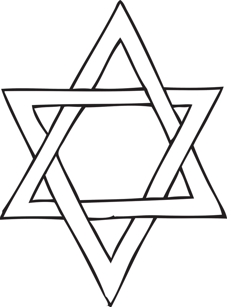 Star of David Vector Element