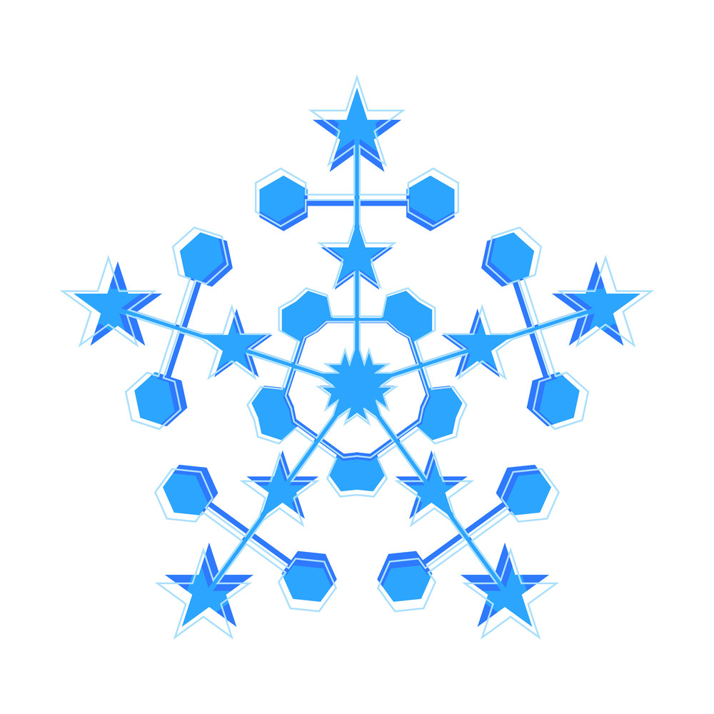 Stared Snowflake
