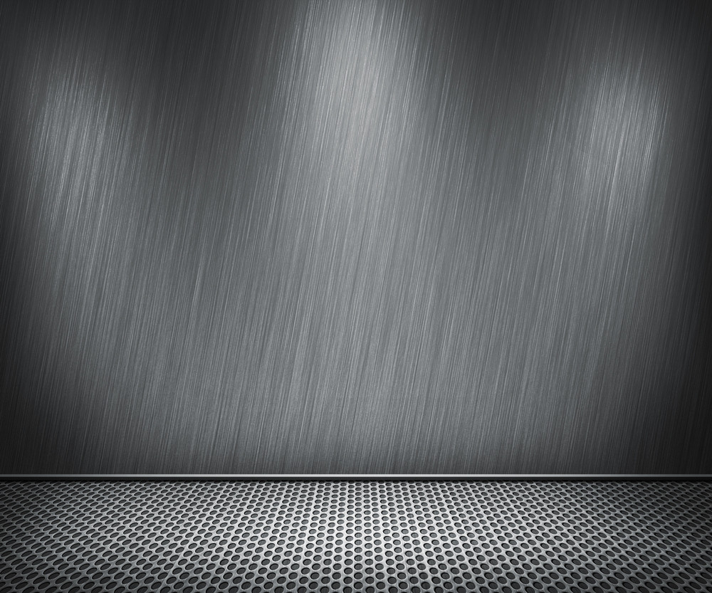 Steel Metal Interior Background