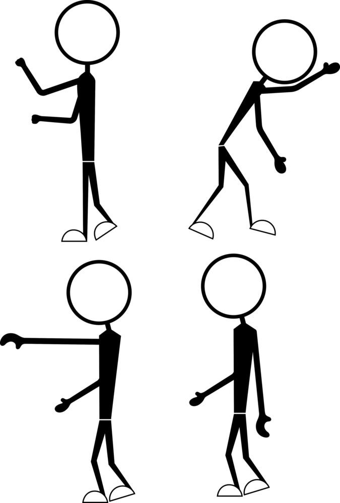 Stick Figure Characters