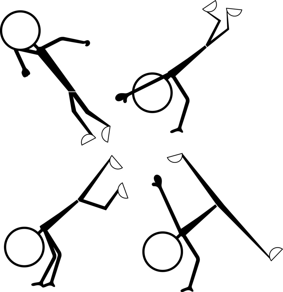 Stick Figure People Poses