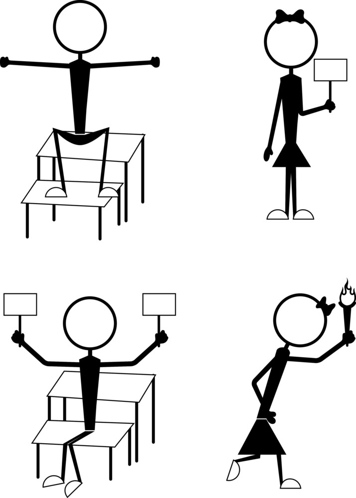 Stick Figure People Poses