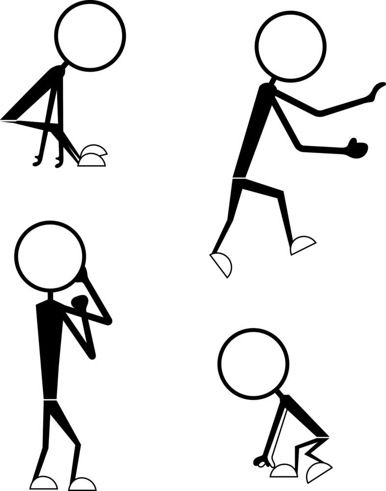 Stick Figure People Styles