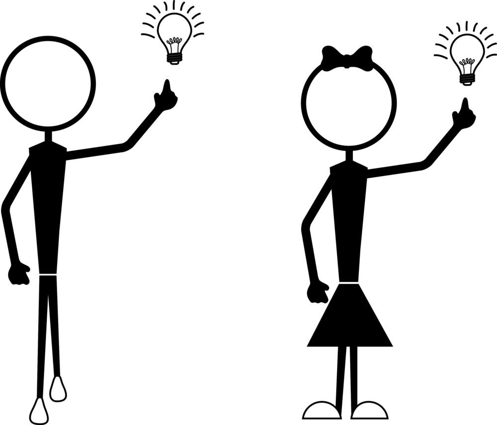 Stick Figures - Idea Concept