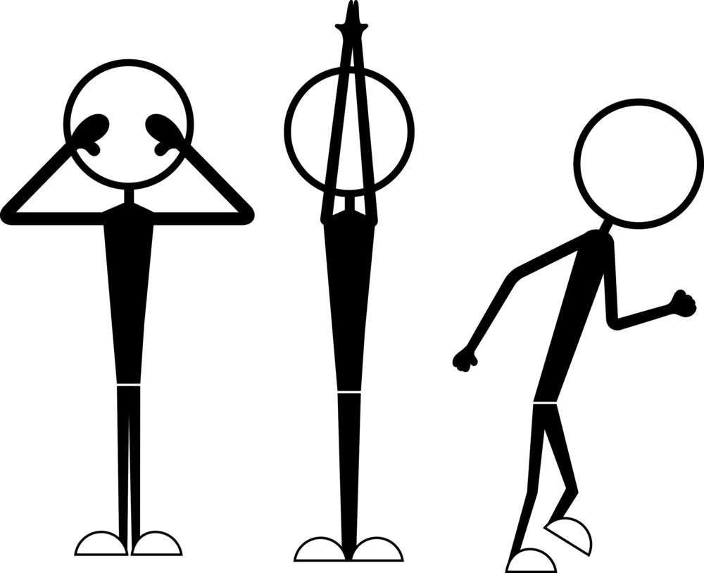 Stick Figures In Action