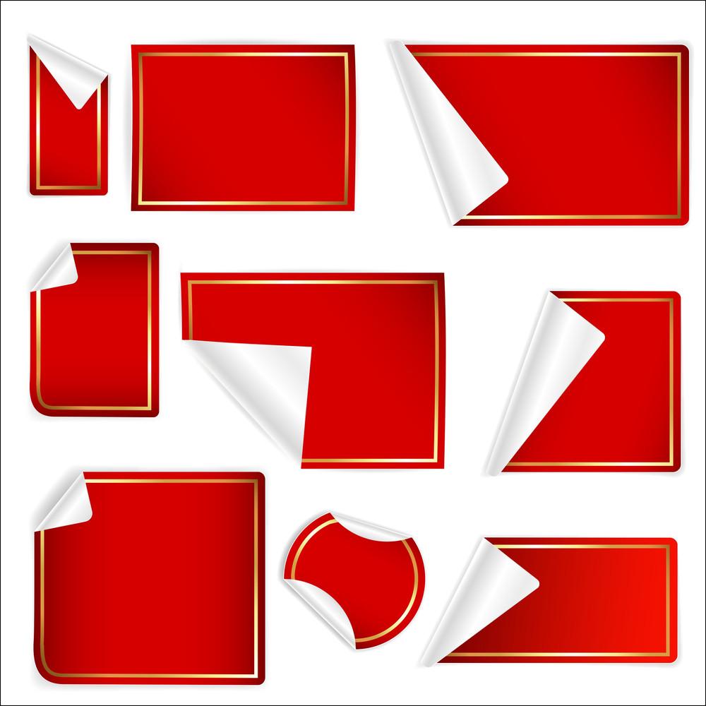 Stickers Vectors