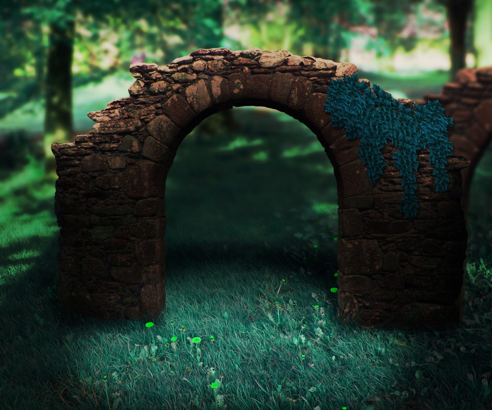 Stone Arch Background