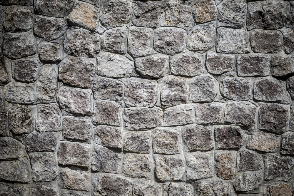 Stones block wall texture and background