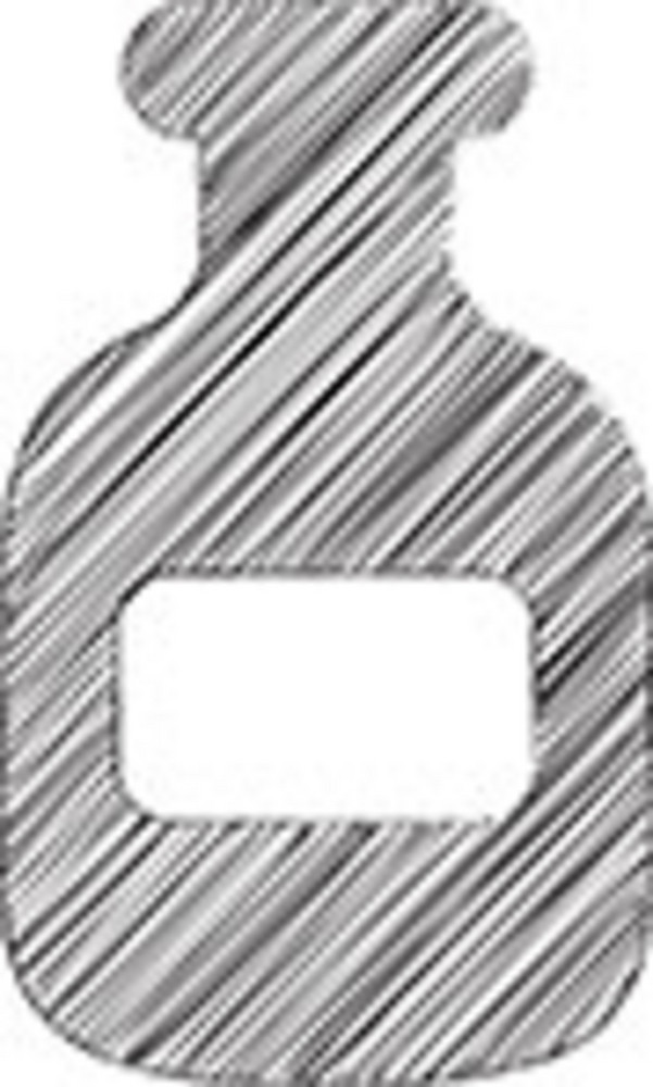 Scribbled Medicine Bottle On White Background