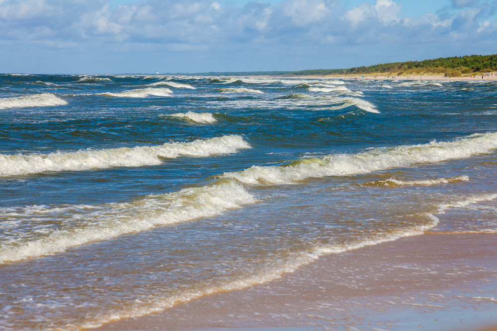 Baltic sea, Palanga, Lithuania
