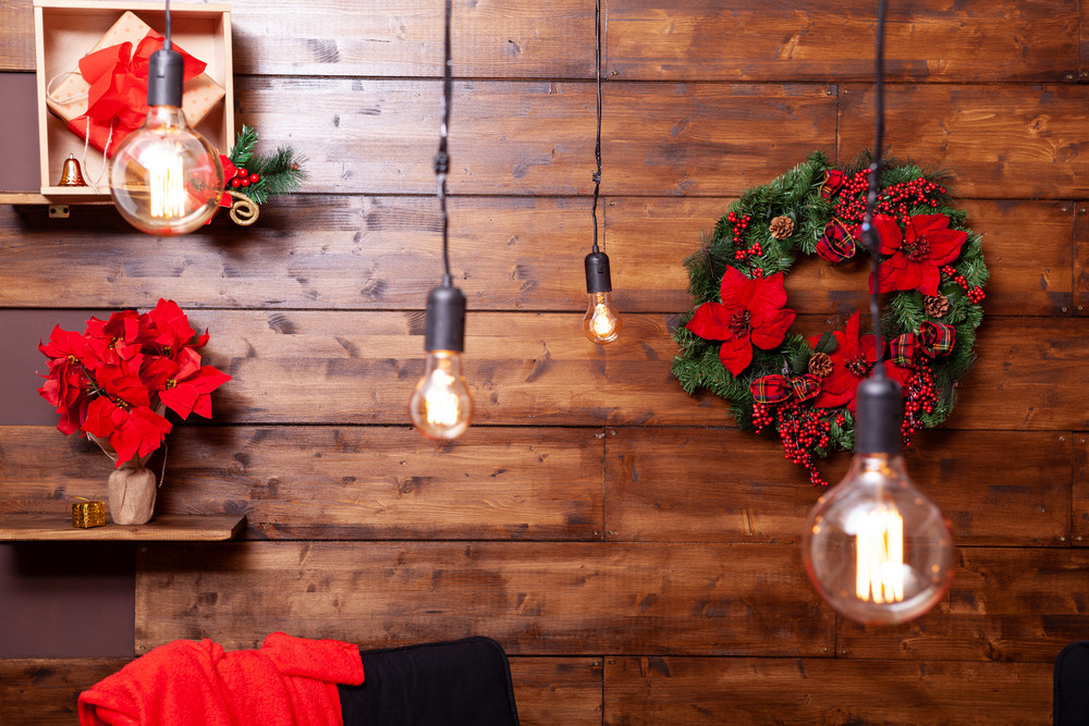 Beautiful Christmas lights design for holiday spirit. Great feeling.