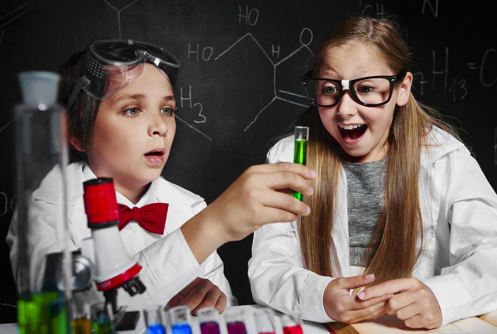 Little chemists discovered something amazing