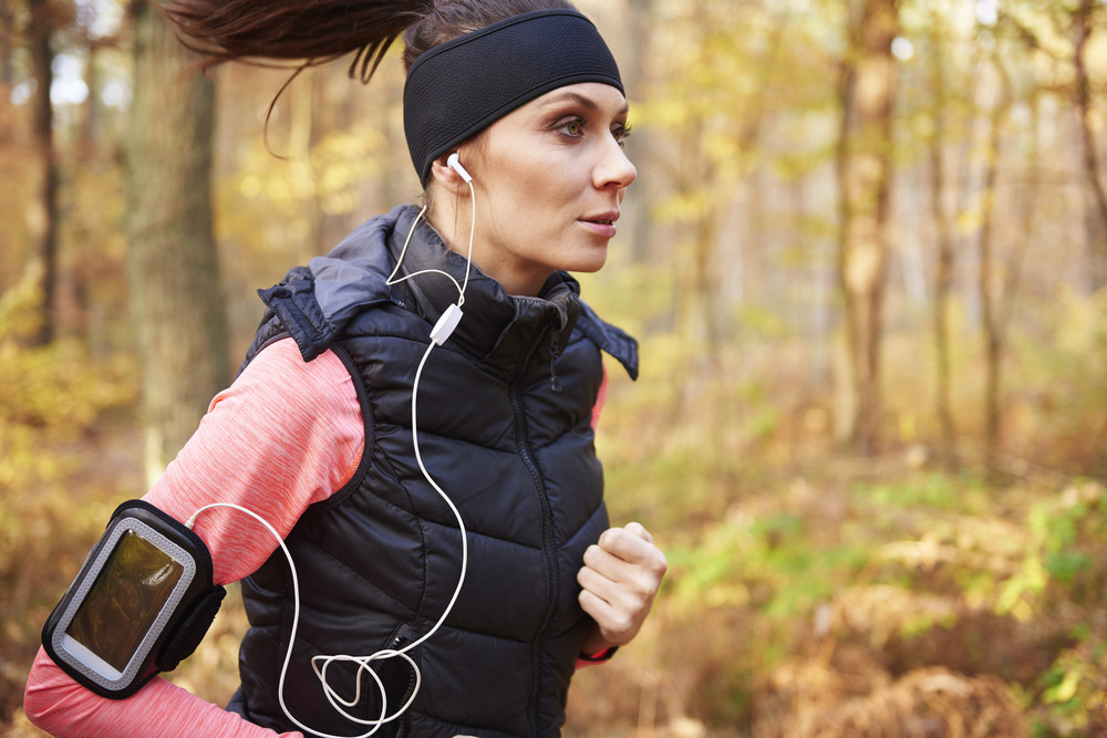 Music and jogging make me feel relaxed