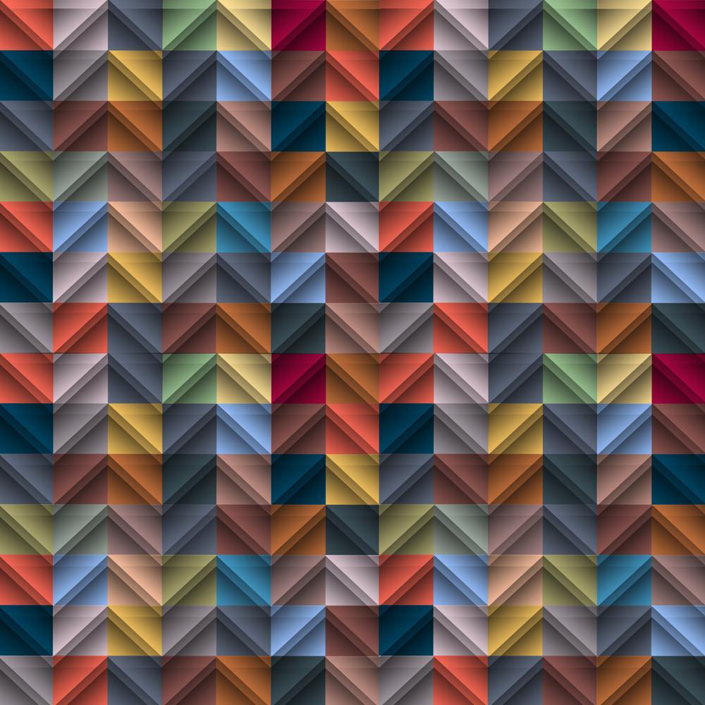 Structure In Retro Colors