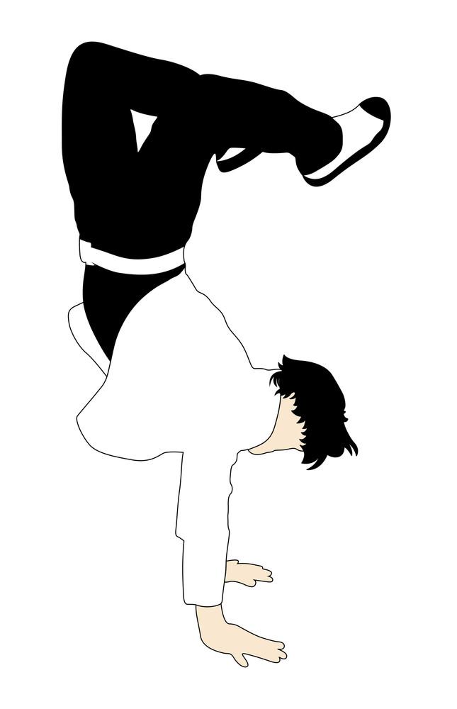 Stunt Boy Dancing