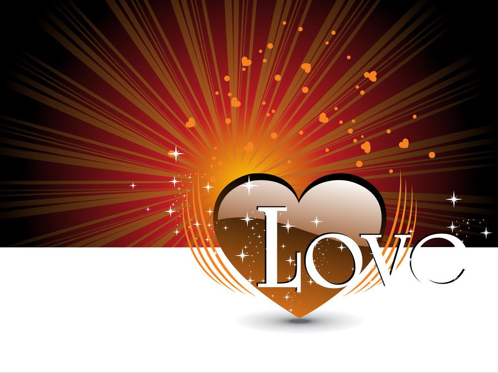 Stylish Pattern Background For Valentine Day