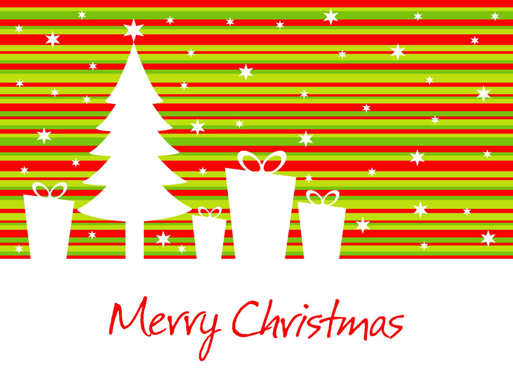 Stylish Pattern Christmas Day Background