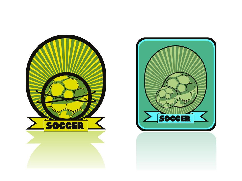 Stylish Soccer Sport Illustration