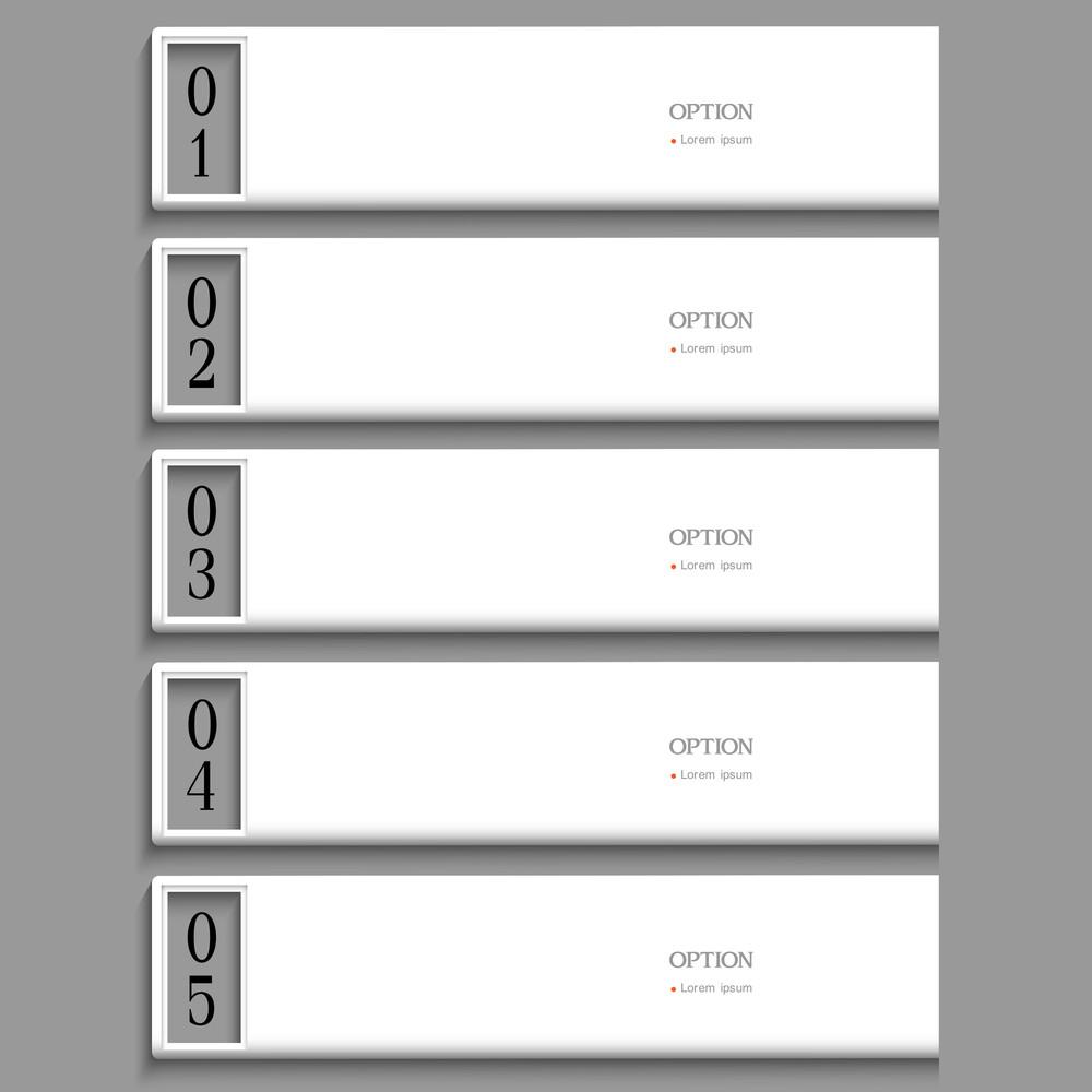 Stylish White Design Template