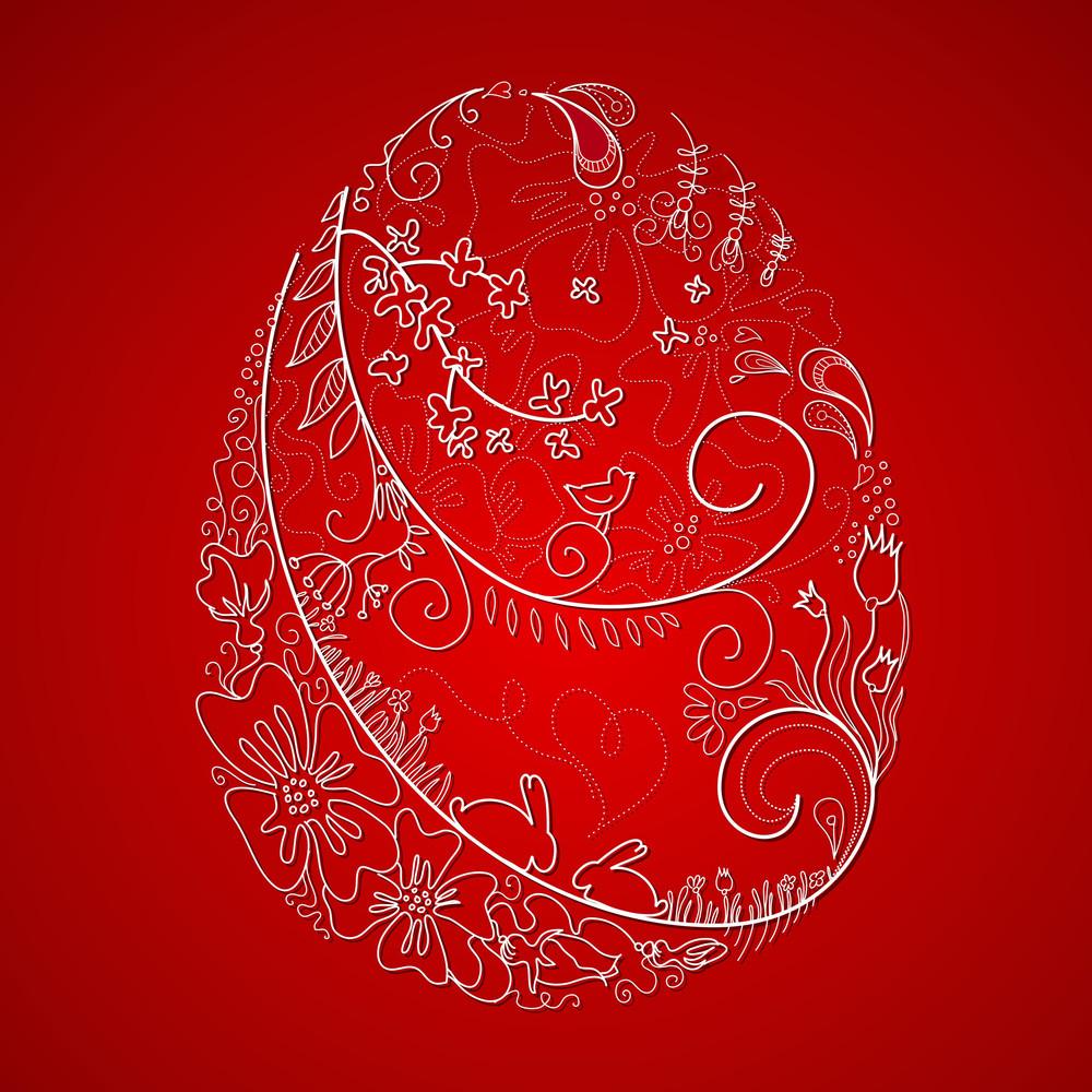 Stylized Easter Egg