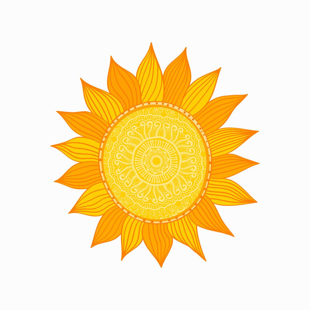 Stylized Sun