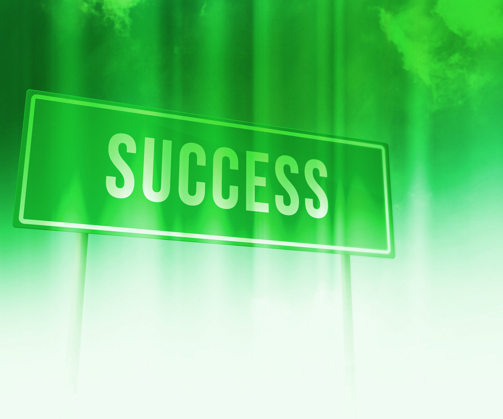 Success Business Backdrop
