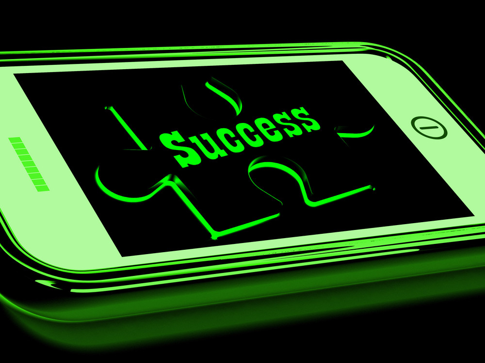 Success On Smartphone Shows Progression