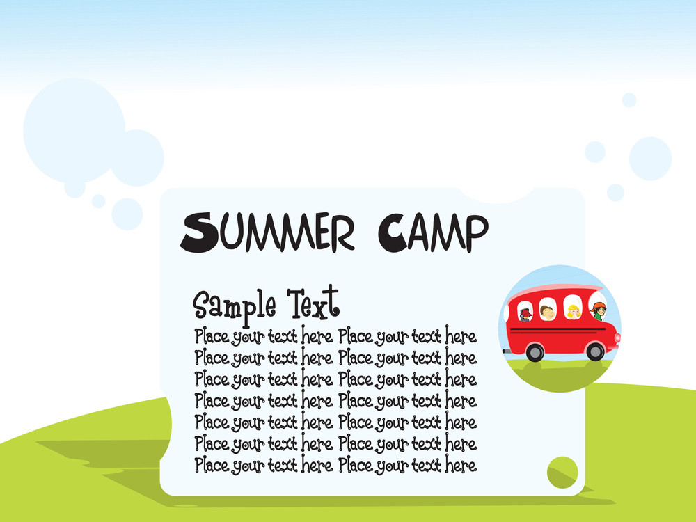Summer Camp Background