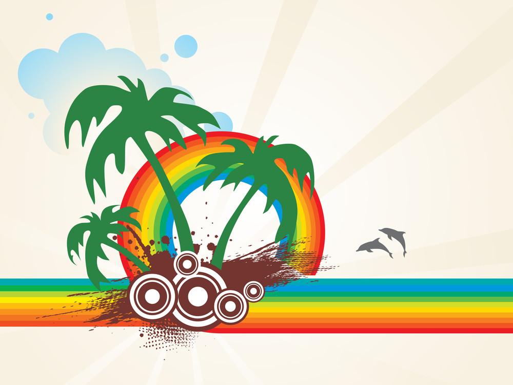 Summer Holiday Vector Design4