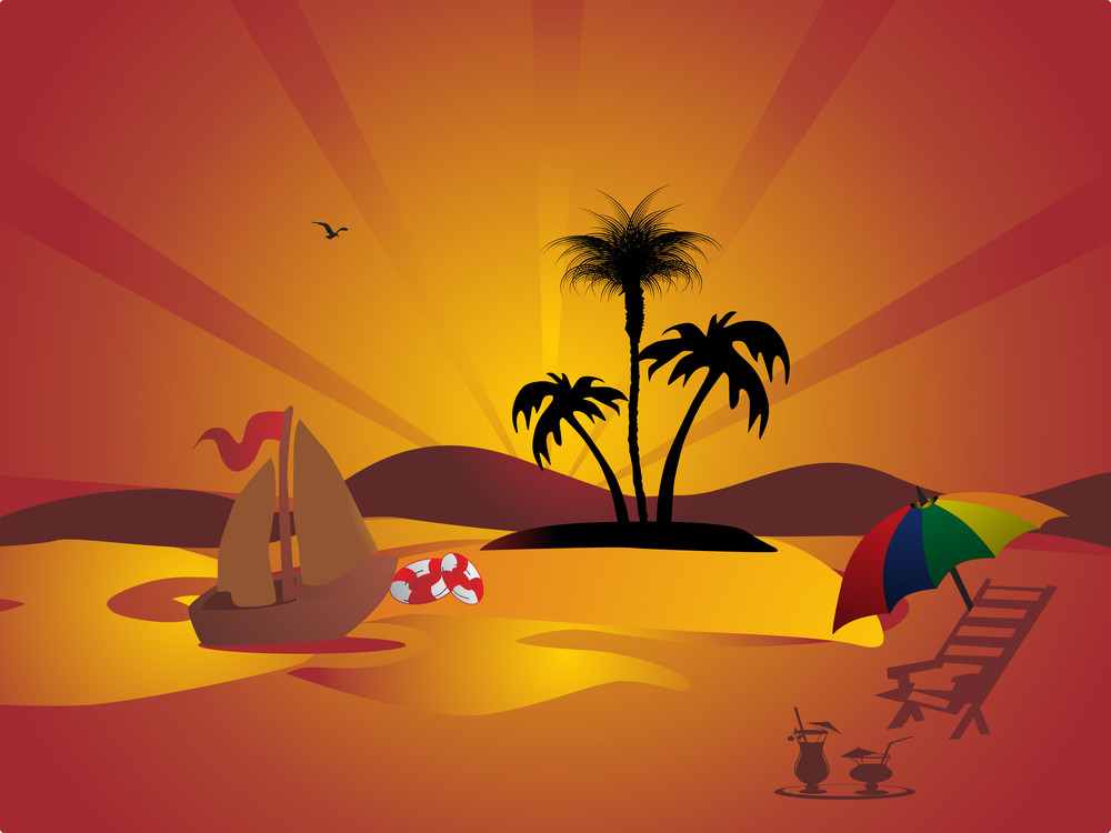 Summer Holiday Vector Design5