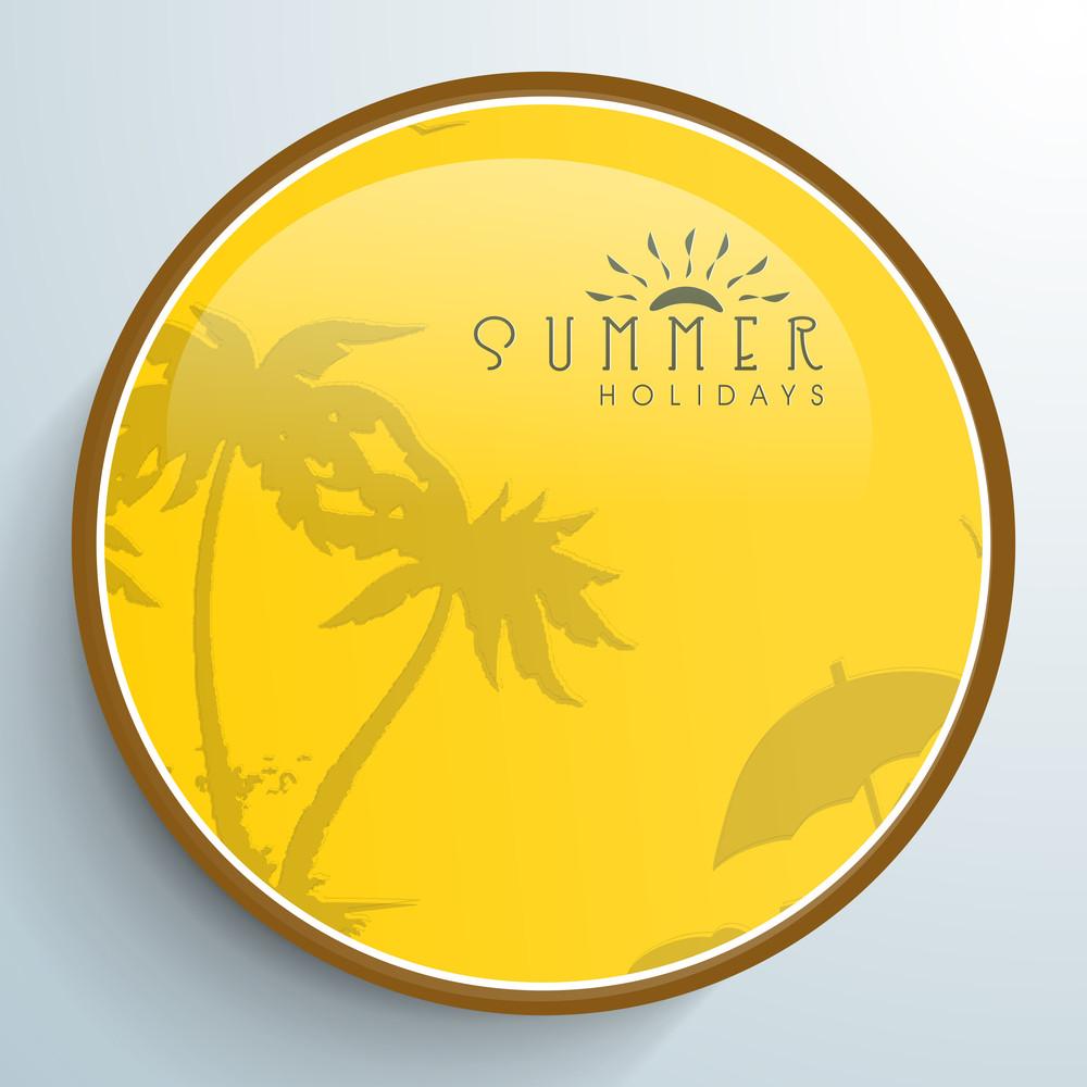 Summer Holidays Tag