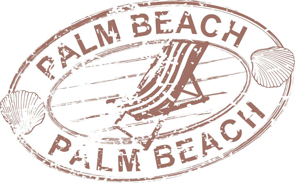 Summer Stamp Vector Element