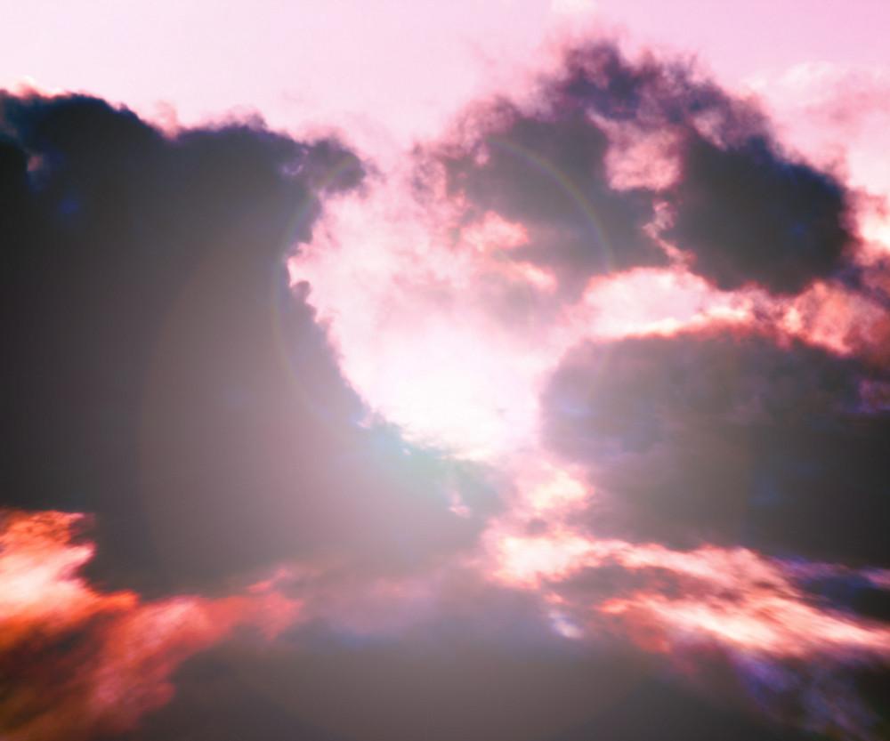 Sun Sky Cloud Stage Background