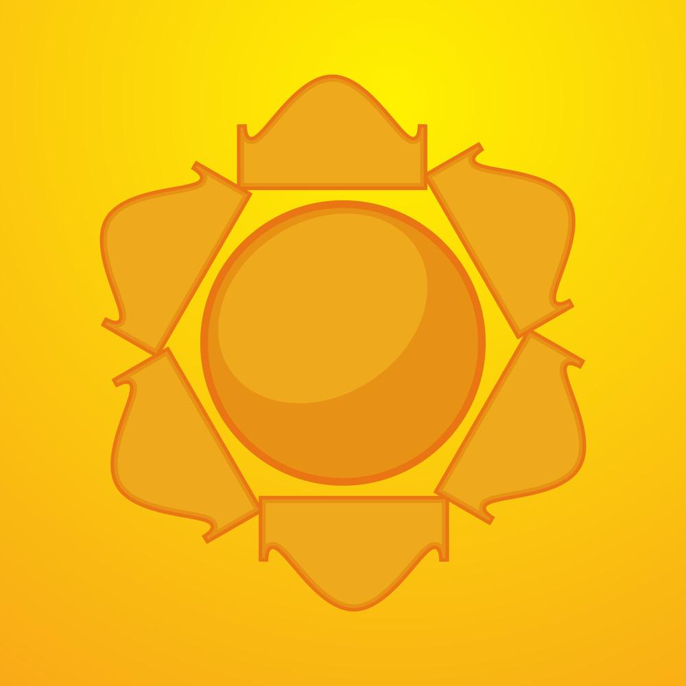 Sun Vector Design Element