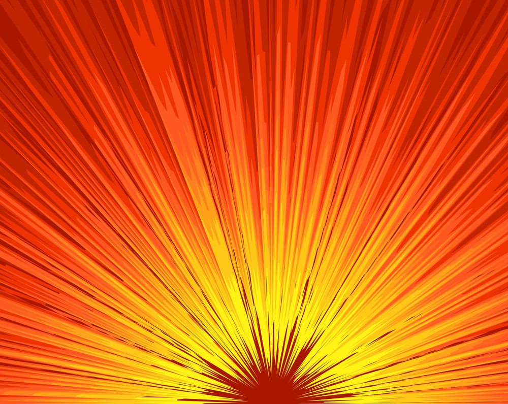 Sunburst Bright Background