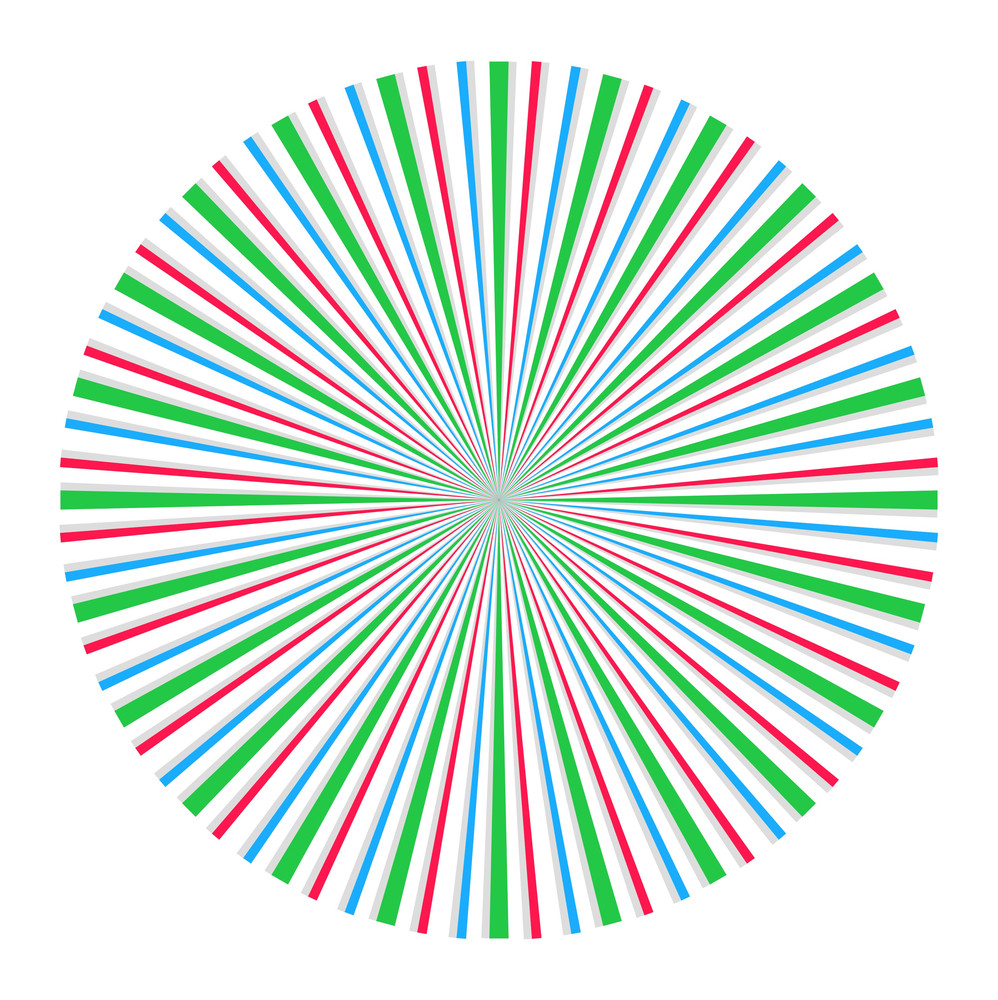 Sunburst Circle