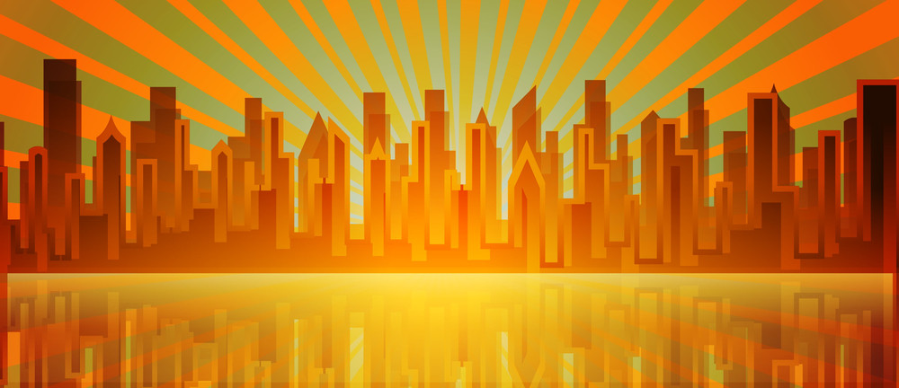 Sunburst Skylines