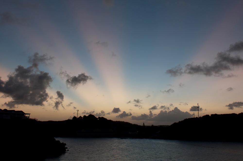 Sunset Rays Of Light