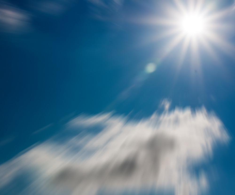 Sunshine Sky Backdrop