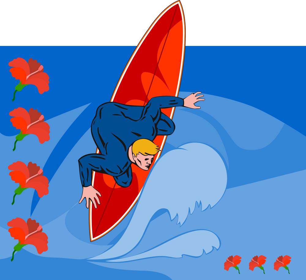 Surfer Retro