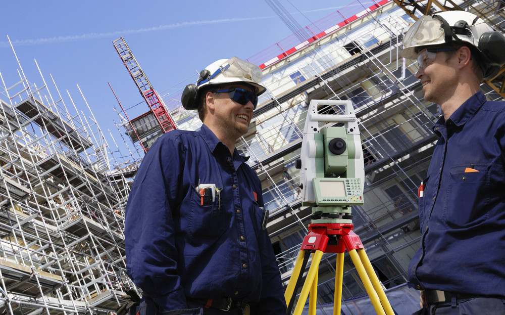 surveying and construction