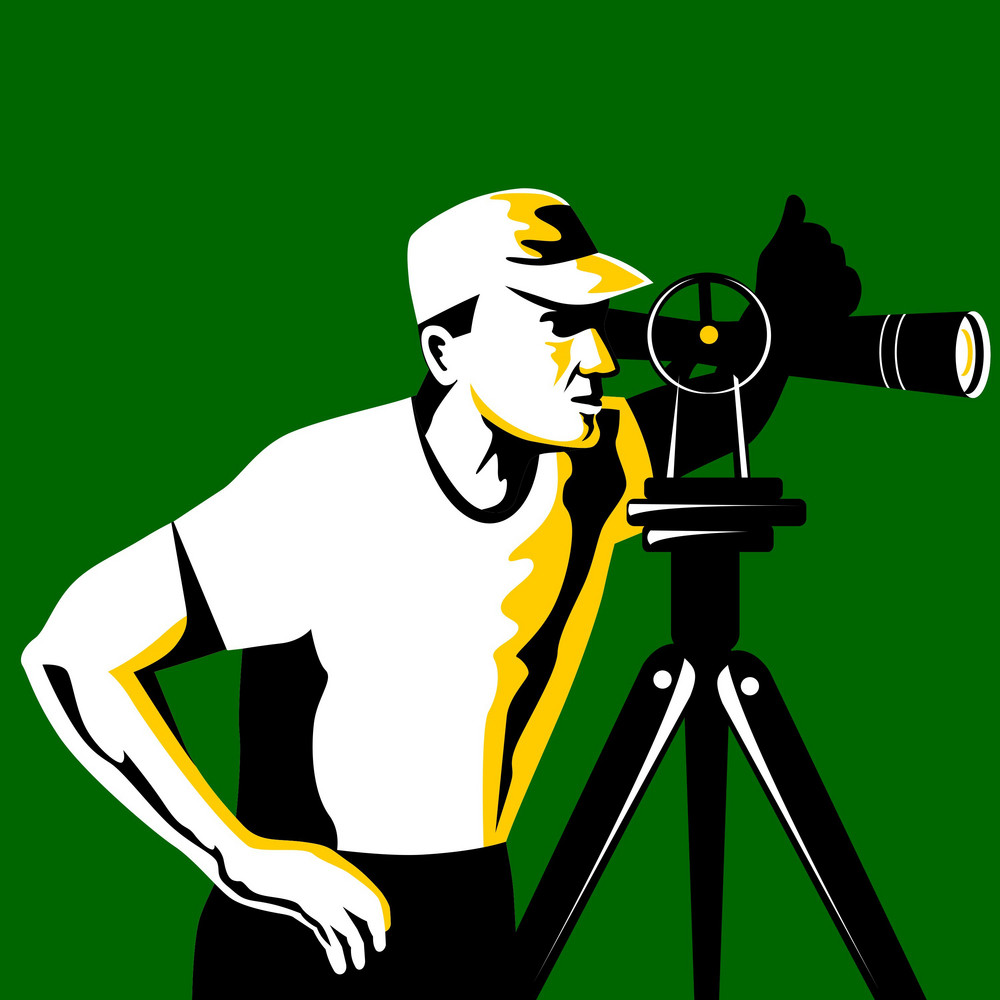 Surveyor Geodetic Engineer Survey Retro