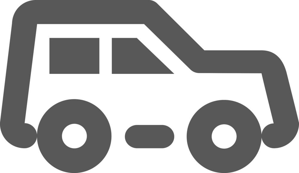 Suv Stroke Icon