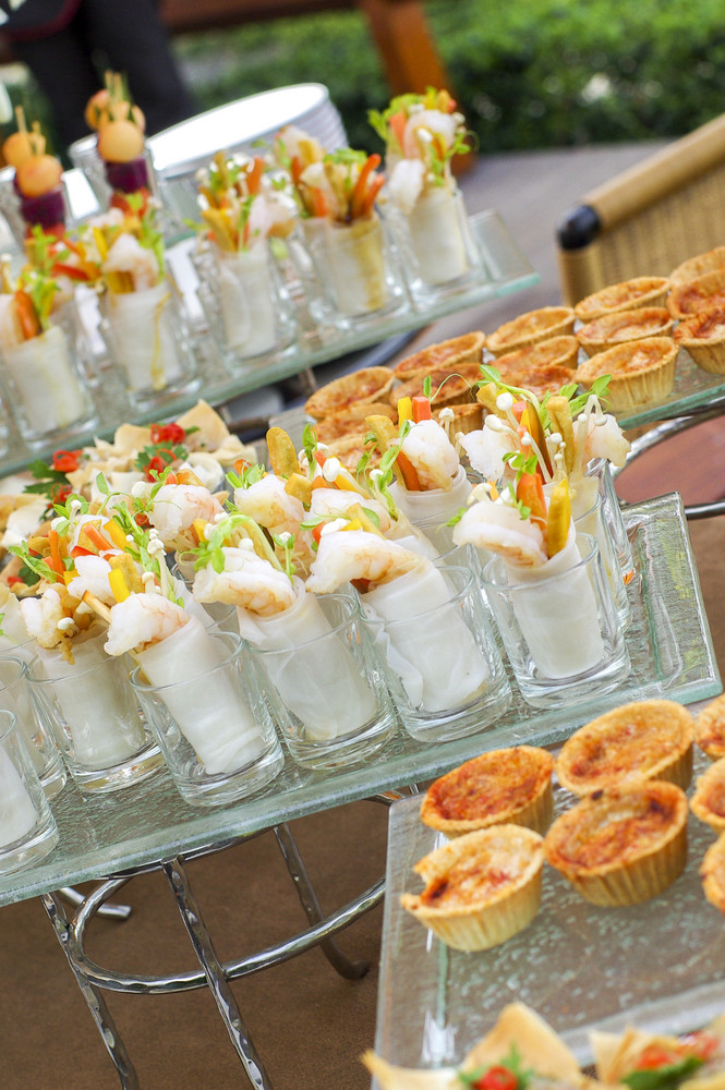 Sweet desserts waiting for restaurants guests