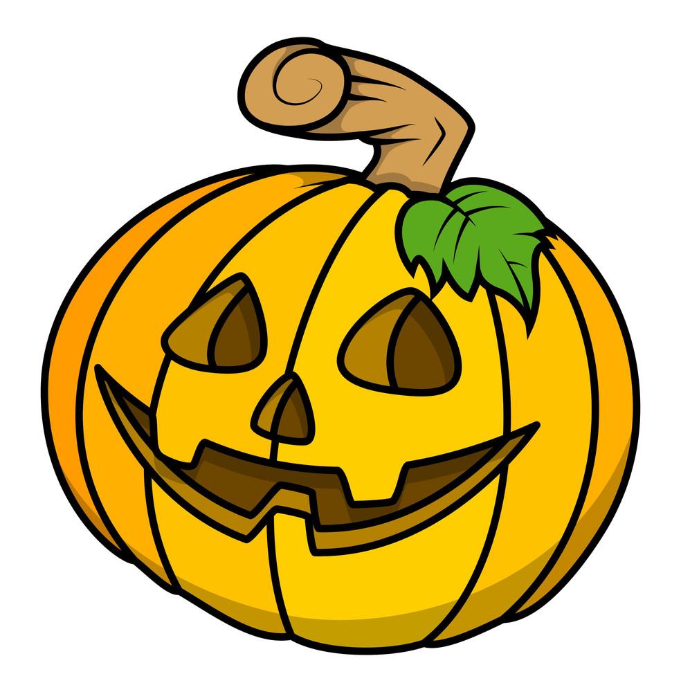 Sweet Pumpkin Vector For Halloween